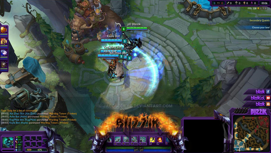 Rocket Launcher League of Legends Overlay by JacobONEyo on DeviantArt