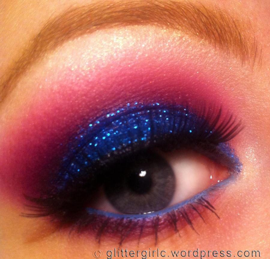 Blue Glitz! :) by GlitterGirlC
