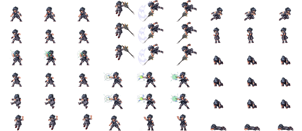 Custom Pokemon Trainer Overworld Sprites - 0425