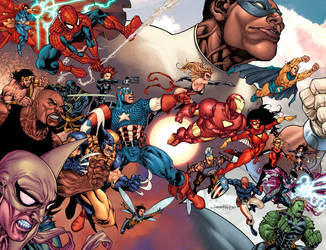 What If? Civil War spread by boysoltero