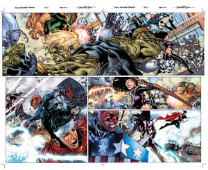 Young Avengers Presents spread