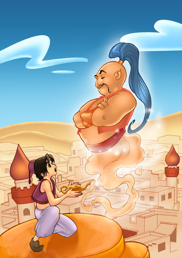 Aladdin by boysoltero