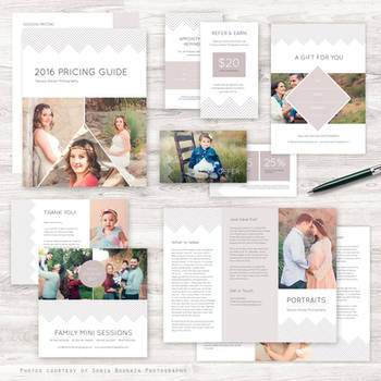 Portrait Photography Marketing Kit by Squijoo