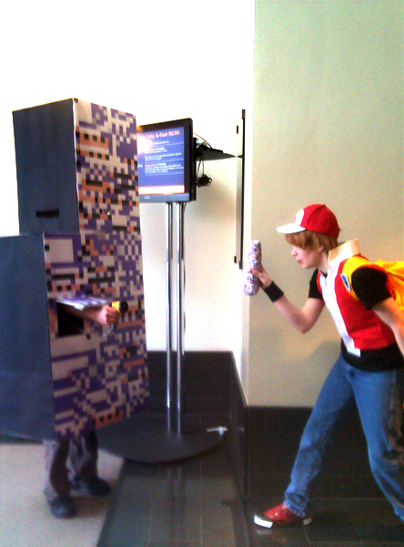 Missingno. used WATER GUN by Pyroluminescence