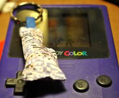 Plush Missingno. Keychain by Pyroluminescence