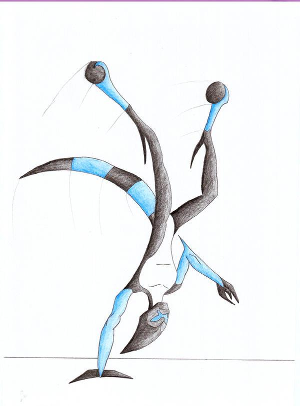 XLR8 pose art by Octomar