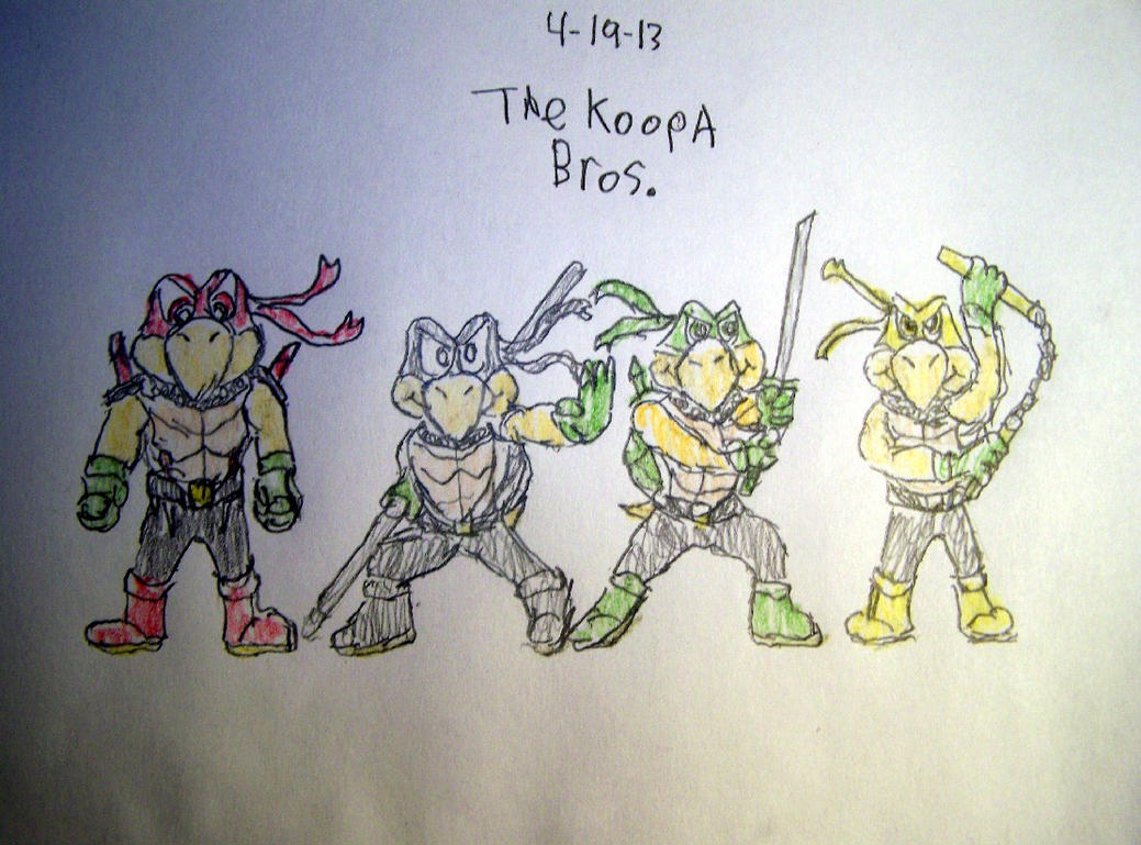 Here Come The Koopa Bros. by Vyel