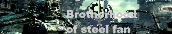 Brotherhood of Steel Button by Vyel