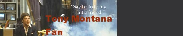 Tony Montana Button by Vyel