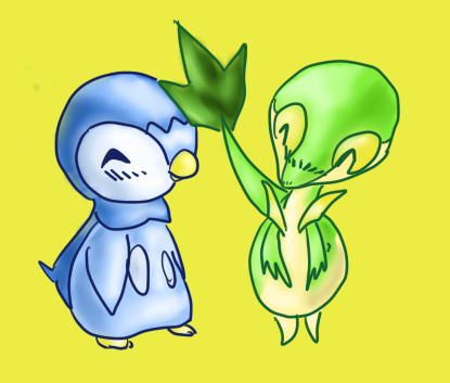 Piplup and Snivy Fanfiction by Oshawott541 on DeviantArt