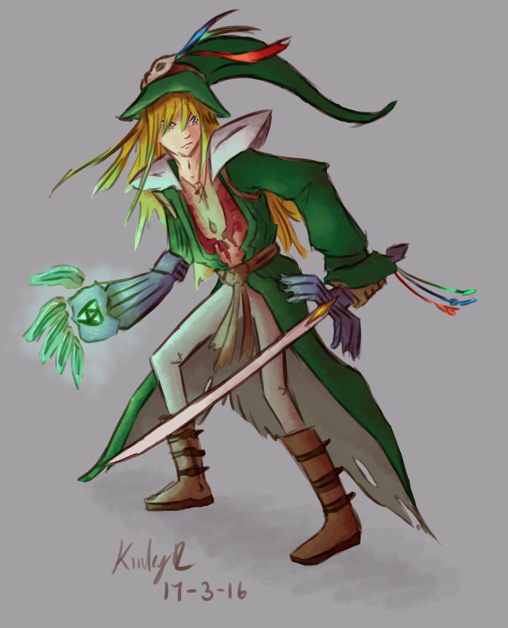 Character Design Challenge Zelda : Character design challenge link by abyssinchaos on deviantart