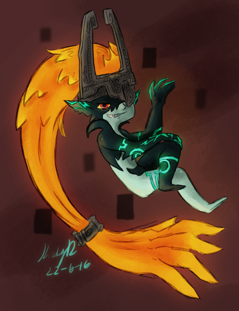 Fanart: Midna by AbyssinChaos