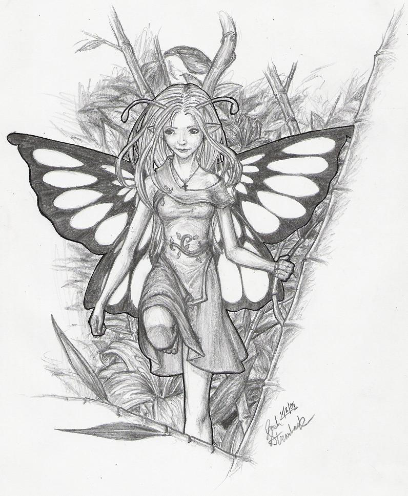 Go Back > Gallery For > Beautiful Fairy Drawings