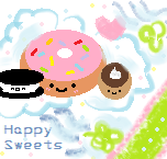 Happy Sweets by kmaki