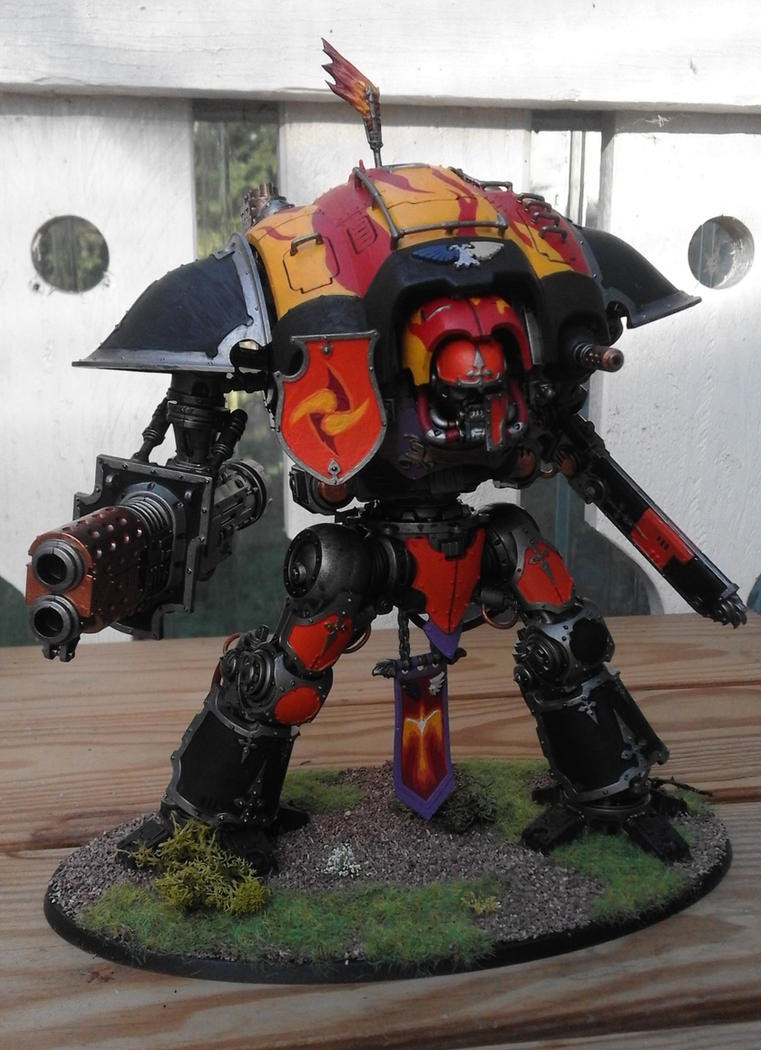 Imperial Knight Errant by Vergoner