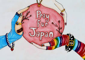 .:Pray for Japan:. by bailey1rox