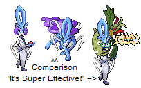 Suicune James plus v. Carnivine by KateVunza