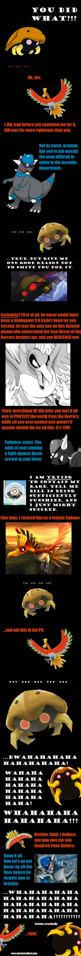 Ho-Oh Sanctioned Shenanigans: Dome Gets The News