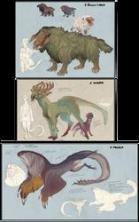Random species for an alien planet - Mounts
