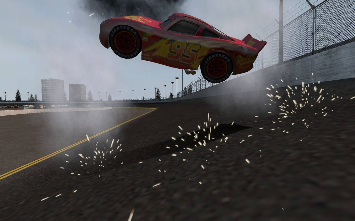 Lightning Mcqueen S Crash From Cars 3 Gmod Remake By Humberto2003 On