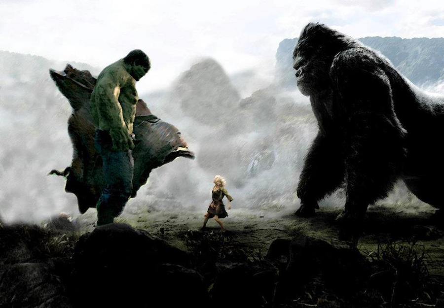 King Kong Vs Hulk Movie Hulk vs King Kong by B...