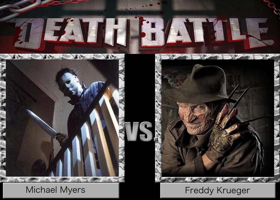 Death Battle 11 : Michael Myers vs Freddy Krueger by BlazingFury316 on  DeviantArt