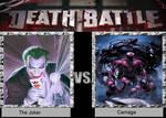 Death Battle 14 : The Joker vs Carnage