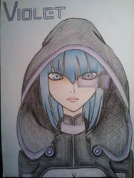 My OC: Violet by NekoHitomixx