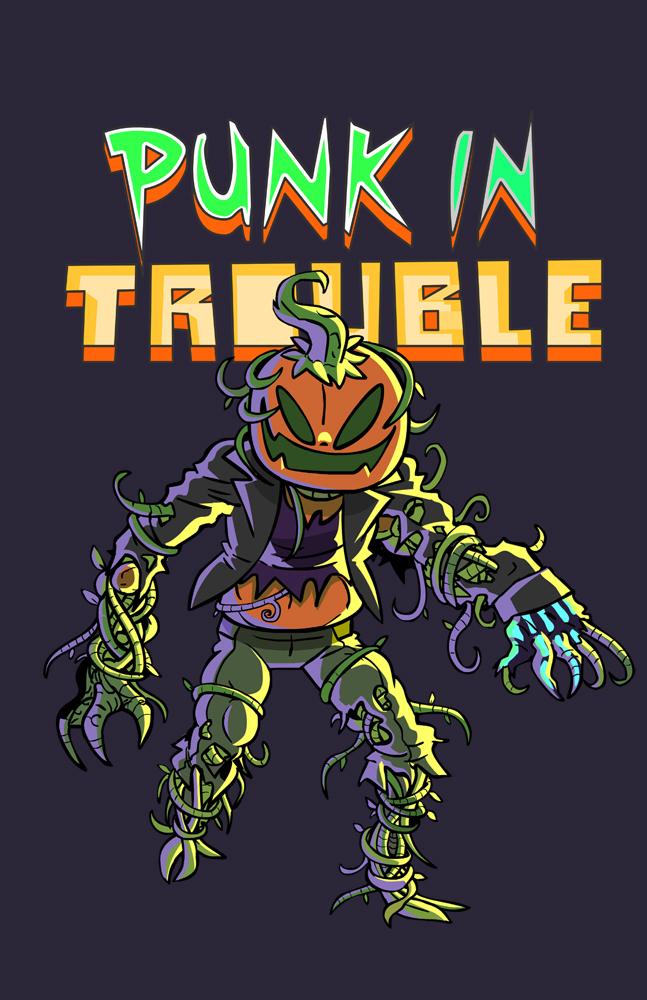 Shambling Punkin Trouble by rayne-gallows