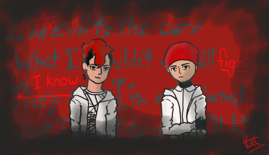 twenty one pilots Fairly Local (late night draw) by crystal115599
