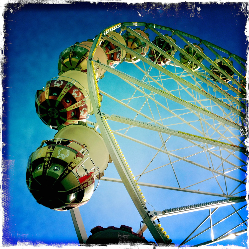 Ferris wheel II by vw1956