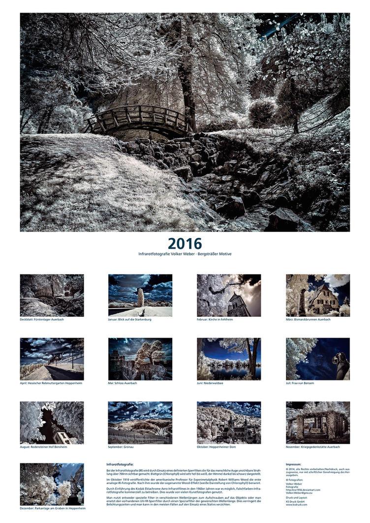 IR Calendar 2016 Color by vw1956