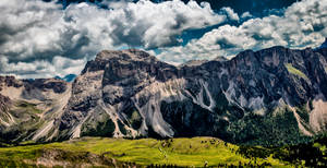 Dolomites Pano color by vw1956
