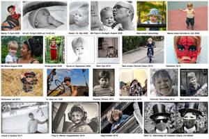 Collage Felix - a boy's life