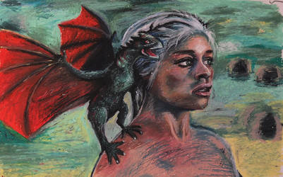 Mother of Dragons by evogal