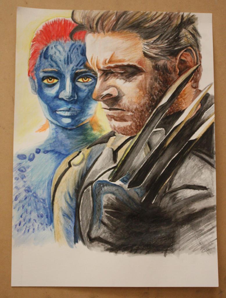 Wolverine - DOFP by evogal