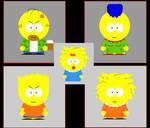 Simpsons gone South Park