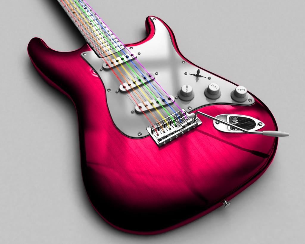 pink guitar by oister69 on deviantart