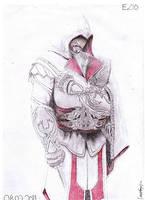 AC Brotherhood Ezio art by Antonios-Arts