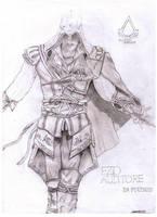 AC 2 Ezio art by Antonios-Arts