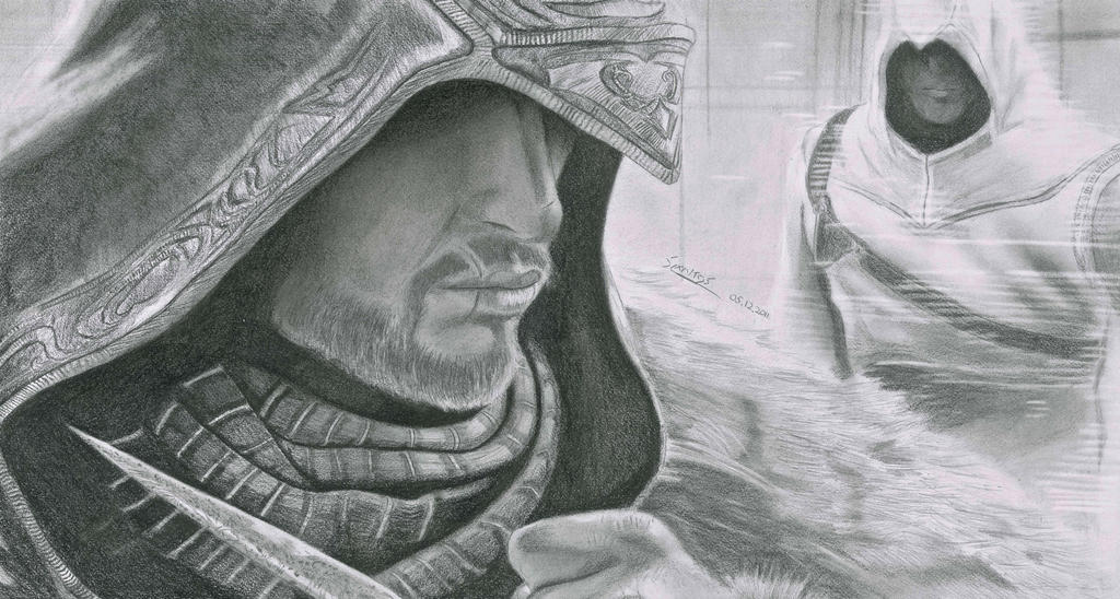 Assassins Creed Revelations Art by Antonios-Arts