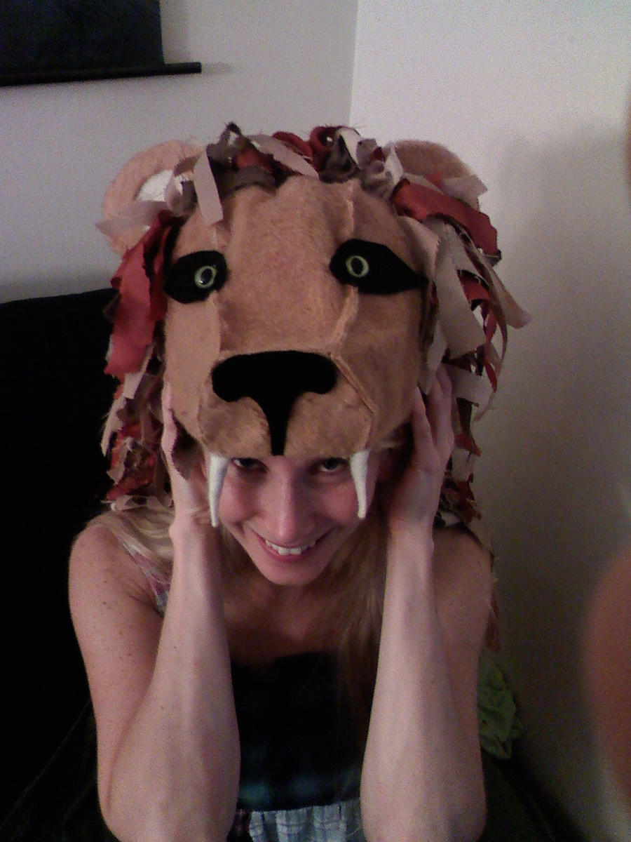 Luna Lovegood Lion Hat by whiskers on deviantART