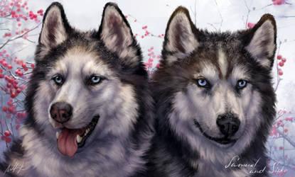 Samuel and Sisko by Wolnir