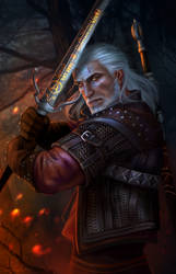 Wake the White Wolf by Wolnir