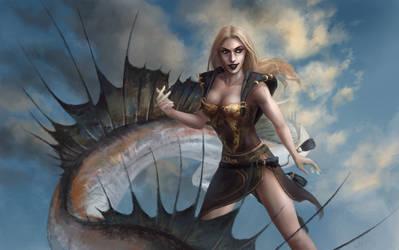 Dragon by Wolnir
