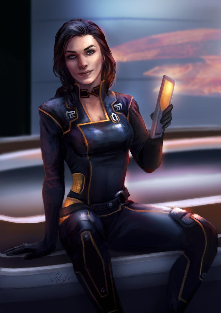 Mass Effect 3 | Miranda Lawson Sexy Dancing [3D Render ...