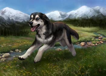 Wolfina by Wolnir