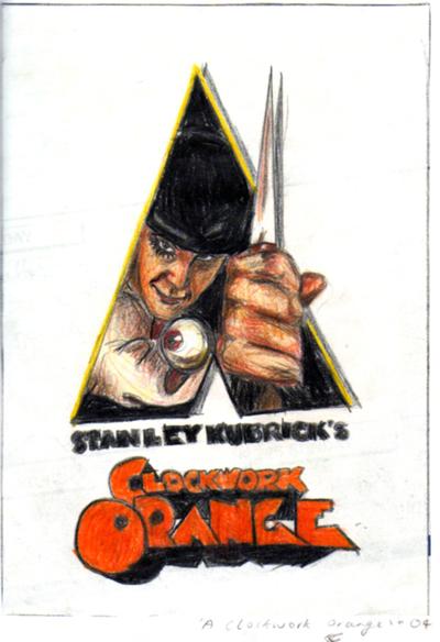 A Clockwork Orange by Beque-au-cinema