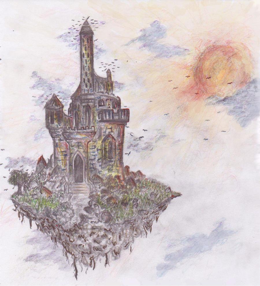 floating castle by kna...