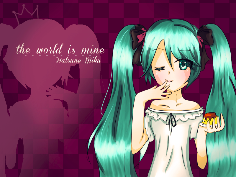 The World Is Mine Fan Art by Aoi-chan01